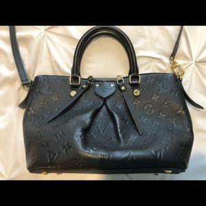 Louis Vuitton Double Zipper Handbag